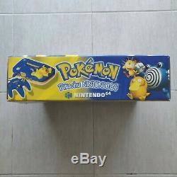 Nintendo 64 Pokemon Pikachu Edition Bleu, Complète, Très Bon état