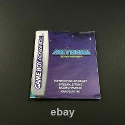 Nintendo Game Boy Advance Metroid Zero Mission EUR Très Bon état