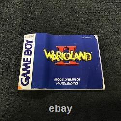 Nintendo Game Boy Color WarioLand II FAH Très Bon état