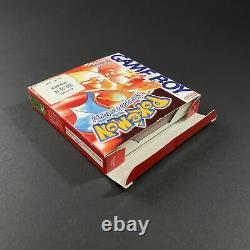 Nintendo Game Boy Pokemon Version Rouge NFRA Très Bon état