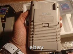 Nintendo Game Boy Tetris pack Fr FAH très bon état rare français papier original