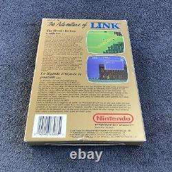 Nintendo NES The Adventure Of Link Zelda II FAH Très Bon état