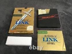Nintendo NES Zelda II The Adventure Of Link Bandaï FAH Très Bon état Complet