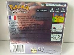 Nintendo Pokemon Cristal gameboy color version française très bon état