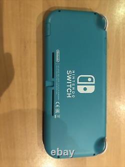 Nintendo Switch Lite 32 Go Console Turquoise, Très Bon État