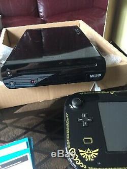 Nintendo Wii U ZELDA Premium Pack 32GB collector très bon État