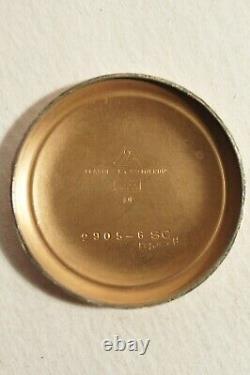 OMEGA CALIBRE 283, SECONDE AU CENTRE, très bon état, 1952