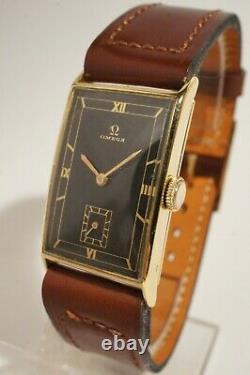 OMEGA EN OR MASSIF 18K, CALIBRE T17, très bon état, 1938