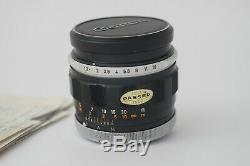 Objectif Canon FL/FD 55mm 1,2 Très Bon Etat 9,5+/10