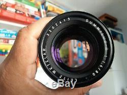 Objectif Leica Summilux-R 80 mm f/1,4 TRES BON ETAT 8/10