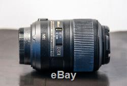 Objectif Nikon AF-S Micro Nikkor 85mm 35-5.6 Très bon état, peu servi