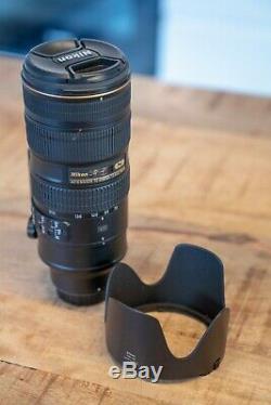 Objectif Nikon AF-S NIKKOR 70-200 f/2.8G ED VR II en très bon état