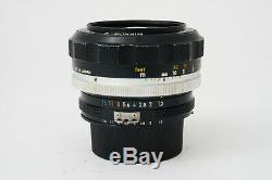 Objectif Nikon Nikkor-S Auto 55mm F/1,2 Ai converted Très Bon état 9,5/10