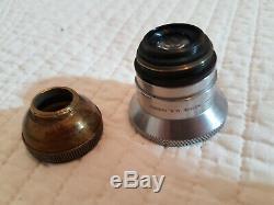 Objectif Taylor & Hobson Cooke Speed Panchro 25mm Inch f/2 Trés bon état
