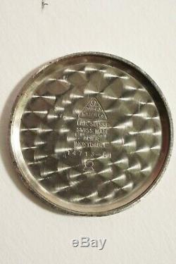 Omega Acier, Calibre 269, Très Bon Etat, Fonctionne Parfaitement, 1962