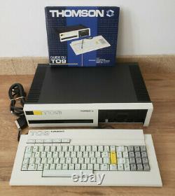 Ordinateur Thomson TO9 Trés bon état UC + clavier + manuel (NO TO7 TO8 MO5 MO6)