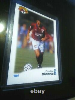 PANINI ZIDANE 1996 cartes X2 bordeaux + france TRES BON ETAT