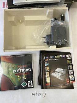 Pack Metroid Nintendo Ds Fat Grise en Boite Complète Très Bon État Jeux Metroid