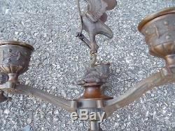 Paire de candelabre en bronze Ibis Napoleon 1er empire tres bon etat