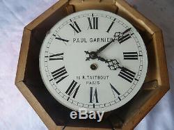 Paul Garnier Pendule du 19s (16 R. TAITBOUT Paris) très bon état, à restaurer