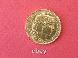 Pieces Or 20 Franc Republique 1909 Tres Bon Etat