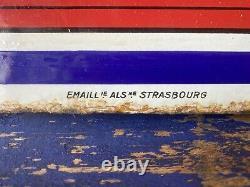 Plaque émaille Ancienne Huile Sedo Sport Très Bon État / Emailchild Enamel Sign