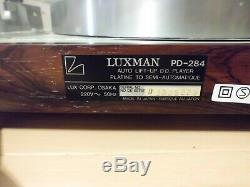 Platine Disque-vinyle Luxman Pd-284 Tres Bon Etat
