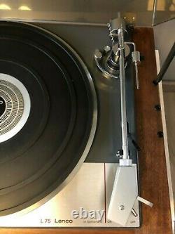 Platine Vinyle LENCO L75 Révisé V-Block neuf garantie 3 mois en très bon état