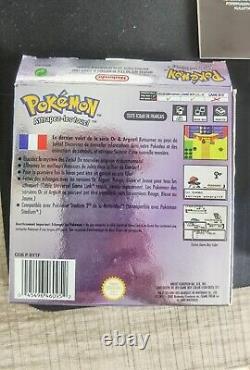 Pokémon Cristal Trés bon état Game boy Color Manque Notice