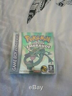 Pokémon Édition Émeraude (Game Boy Advance, 2005) très bonne état