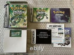 Pokemon Emerald Version / Game Boy Advance / Complet Tres Bon Etat USA