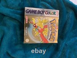 Pokemon Gold Version (Game Boy Color, 2000), complet et très bon état