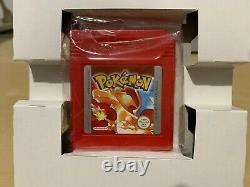 Pokemon Version Rouge Nintendo Game Boy Jeu Complet Tres Bon Etat Francais Fr