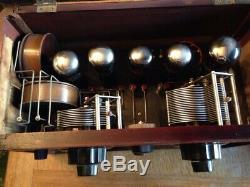 Poste de radio à lampes JF BERRENS modèle SUPER AB5 en très bon état RARE