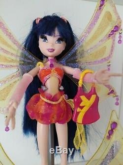 Poupées Winx Musa Enchantix Très Rare 2004 avec Accessoires en très bonne état