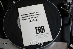 RARE platine vinyle ERA 444 très bon état fonctionnelle