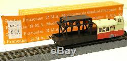 RMA HO Draisine entretien de caténaire non motorisée réf. 1032 très bon état