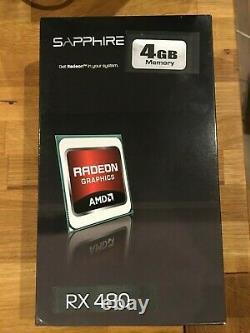 Radeon RX480 4Go Sapphire NITRO+ Carte graphique en très bon état