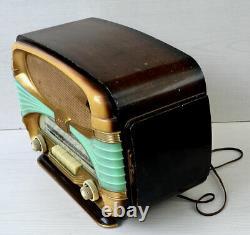 Radio TSF à lampes OCEANIC MODELE SURCOUF (1958) Très bon état mais non testée