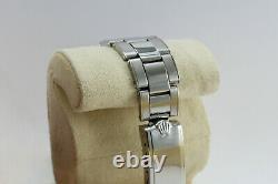 Rolex Oyster Perpetual Ref 5500 Acier 34mm C. 1950 Bracelet Acier Tres Bon Etat