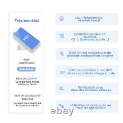 SAMSUNG Galaxy S10+ 128Go Blanc Prisme Reconditionné Très bon état (Double SIM)