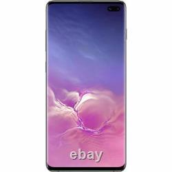 SAMSUNG Galaxy S10+ 128Go Noir Prisme Reconditionné Très bon état Double