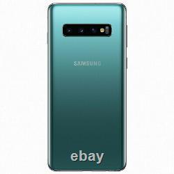 SAMSUNG Galaxy S10 128Go Vert Prisme Reconditionné Très bon état (Double SIM)