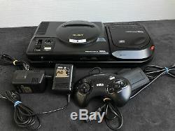 SEGA Console Mega CD 2 + Megadrive 1 PAL Très Bon état