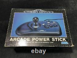 SEGA Megadrive Joystick Arcade Power Stick EUR Très Bon état
