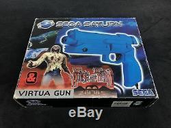 SEGA Saturn The House Of The Dead + Virtua Gun EUR Très Bon état