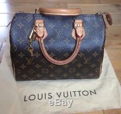 Sac Louis Vuitton Speedy 25, Très bon état