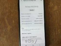 Samsung Galaxy A8 2018 32 Go Dual SIM NOIR débloqué très bon état