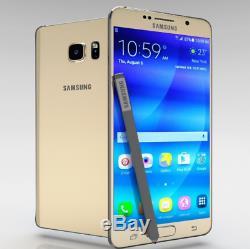 Samsung Galaxy Note5 N920A / Or / Très bon état (Débloqué) 32Go