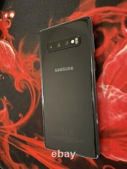 Samsung Galaxy S10 SM-G973 512Go Noir Très bon état-desimlocké- DUAL SIM